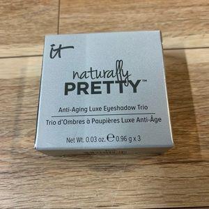 New! It Cosmetics Naturally Pretty Eyeshadow Trio